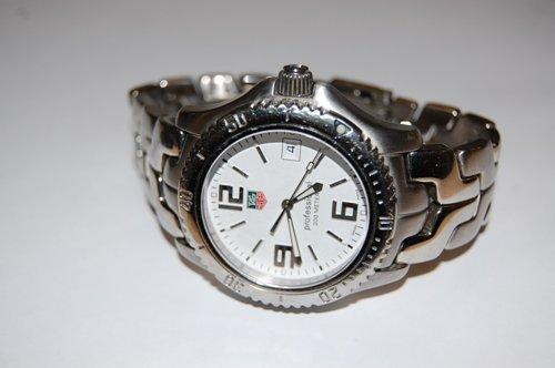 TAG HEUER LINK SEL 200M WHITE DIAL ~ WT1114 BA0551